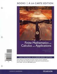 Finite Mathematics and Calculus with Applications [With Access Code]