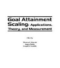 Goal Attainment Scaling