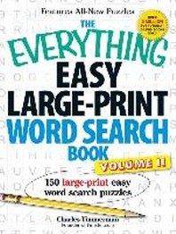 The Everything Easy Large-Print Word Search Book, Volume 2
