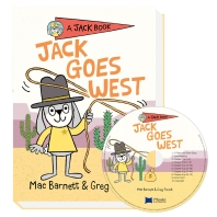 Very 얼리챕터북 Jack Book 04 Jack Goes West (원서 & CD)