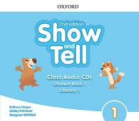 Show and Tell. 1 Class Audio CD