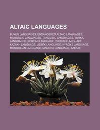Altaic Languages
