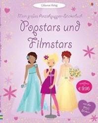 Mein grosses Anziehpuppen-Stickerbuch: Popstars und Filmstars