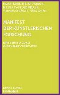 Manifest der Kuenstlerischen Forschung