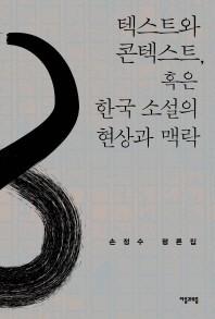 텍스트와 콘텍스트, 혹은 한국 소설의 현상과 맥락