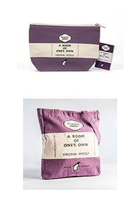 [펭귄]  A Room Of One's Own Purple 토트백 + 필통 세트