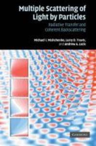 Multiple Scattering of Light by Particles : Radiative Transfer and Coherent Backscattering