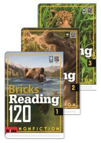 브릭스 리딩 Bricks Reading 120 논픽션 nonfiction 1,2,3 세트