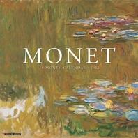 Monet Art 2022 Wall Calendar