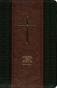크로스 바이블(Cross Bible)(검정/자주 투톤)(큰글)(개역개정)(새찬송가)