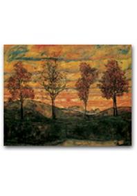 재원브로마이드. 3: 에곤 실레/네 그루 나무