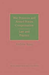 War Pensions and Armed Forces Compensation