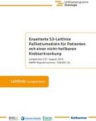 Erweiterte S3-Leitlinie Palliativmedizin Fur Patienten Mit Einer Nicht-Heilbaren Krebserkrankung