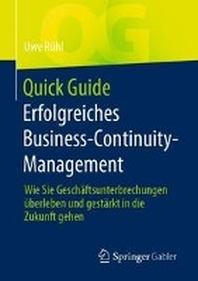 Quick Guide Erfolgreiches Business Continuity Management
