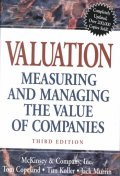 Valuation : Measuring and Managing the Values of Companies (Wiley Frontiers in Finance)