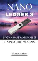 Ledger Nano S Bitcoin Hardware Wallet