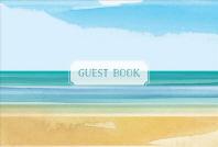 Guest Book Coastal Edition