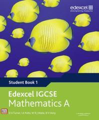 Edexcel IGCSE Mathematics A Student Book 1 with ActiveBook C