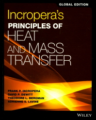 Incropera's Principles of Heat and Mass Transfer