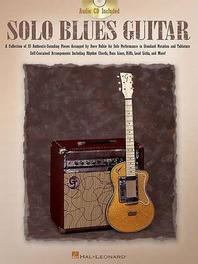 Solo Blues Guitar [With CD (Audio)]