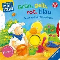 Gruen, gelb, rot, blau