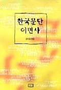 한국문단 이면사