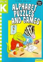 Alphabet Puzzles and Games (Prek-K)