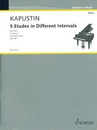 5 Etudes in Different Intervals, Op. 68