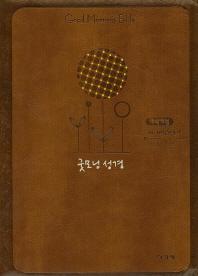 굿모닝 성경(브라운)(특소)(합본)(색인)(지퍼)