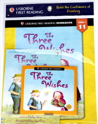 Usborne First Reading Workbook Set 1-11 : The Three Wishes