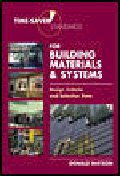 Time-Saver Standard for Building Materials and Systems : Design