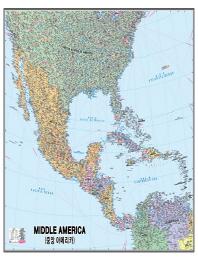 중앙 아메리카(코팅원지)