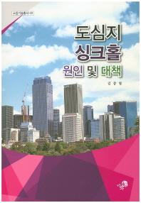 도심지 싱크홀 원인 및 대책