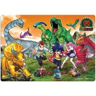 공룡메카드 4절 퍼즐. 1
