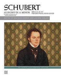 """Schubert -- Allegro in a Minor, Op. 144 (""""Lebensstrme"""")"""