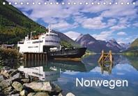 Norwegen (Tischkalender 2021 DIN A5 quer)
