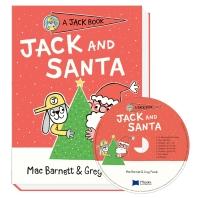 Very 얼리챕터북 Jack Book 07 Jack and Santa (원서 & CD)