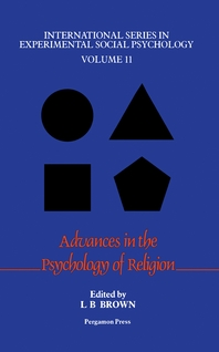 Advances in the Psychology of Religion