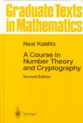 Course in Number Theory and Cryptography (Graduate
