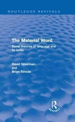 The Material Word (Routledge Revivals)