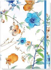 Asian Floral Journal (Diary, Notebook)