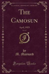 The Camosun, Vol. 15