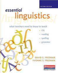 Essential Linguistics, Second Edition