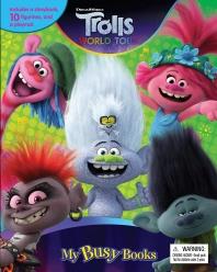 DreamWorks Trolls World Tour (미니피규어10개 + 놀이판)