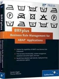 Brfplus--Business Rule Management for ABAP Applications
