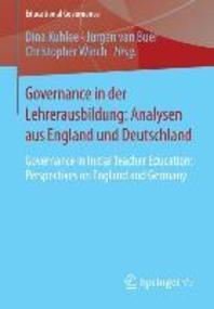 Governance in Der Lehrerausbildung