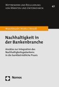 Nachhaltigkeit in der Bankenbranche