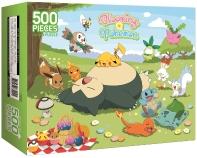 포켓몬스터 직소 퍼즐 500 블루밍 포켓몬