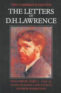 The Letters of D. H. Lawrence Parts 1 and 2