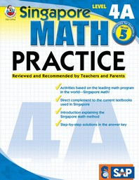 Singapore Math Practice, Level 4A Grade 5